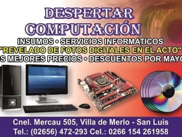 Despertar Computación – Servicios informáticos e insumos